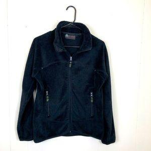 Misty Mountain Fleece Zip Up Jacket Sz L